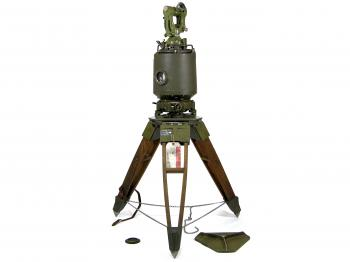 The MIL-ABLE T2 Gyro-Azimuth Surveying Instrument on its original tripod.