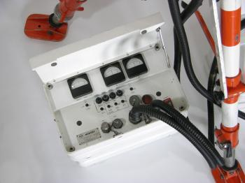 The 'Coffret IR' that controls the IR detection.