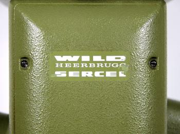 The Wild Heerbrugg Sercel logo of the TC1.