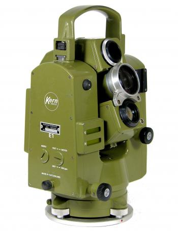 The Kern E1 electronic theodolite with DM503 EDM.