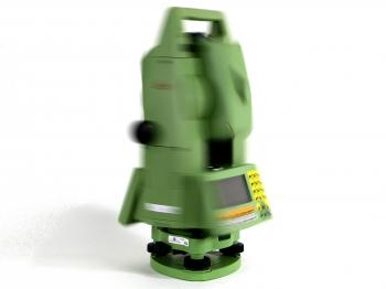 The TCRA 1101 is a robotic total station.