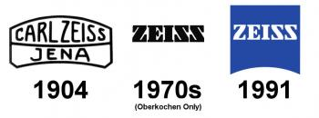The main changes in logo over the years.
