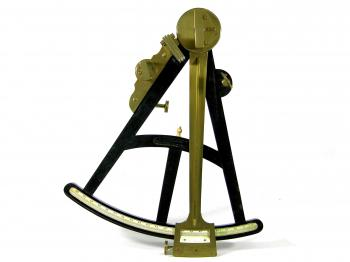 The front of the octant.