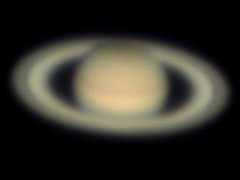 Saturn as seen on 21 July 2018 23:00 UTC with the C11.
