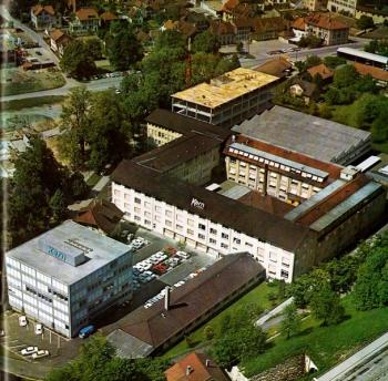 The Kern factory around 1967-1969.