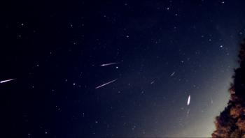 Perseid meteors as imaged in the night of 12 to 13 August 2020.