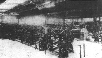 A cable plant of the Compagnie des Signaux.