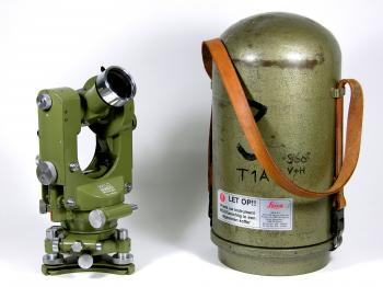 1961 Wild Heerbrugg T1A automatic theodolite.